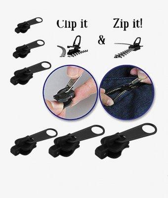 6 sizes of Fix A Zipper