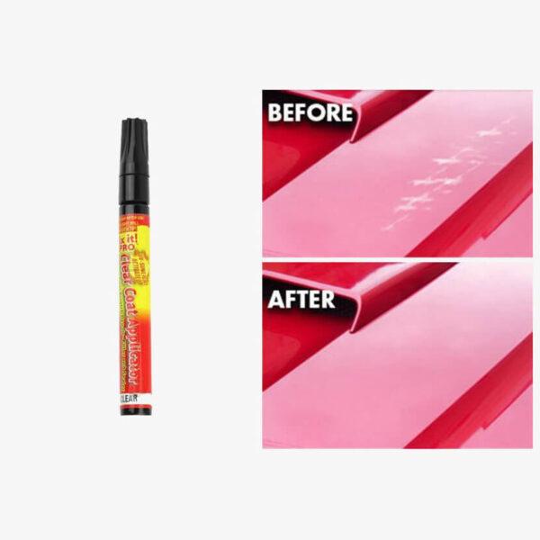 Scratch Repair Pen before after