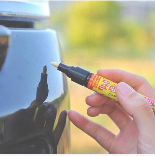 Scratch Repair Pen in action
