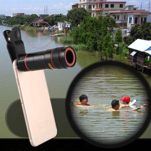 Phone Camera Lens, 12X Phone Camera Lens Kit