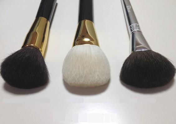 bronzer and blush brushes