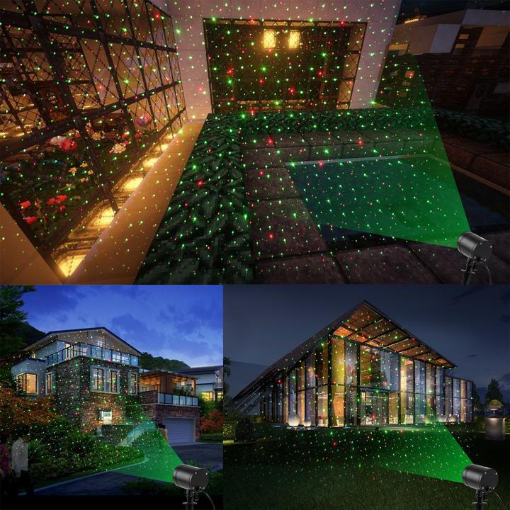 Star Laser Projector Light Christmas Lights Indoor Outdoor