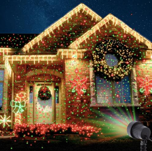Laser Christmas Lights.Star Laser Projector Light Christmas Lights Laser Indoor Outdoor