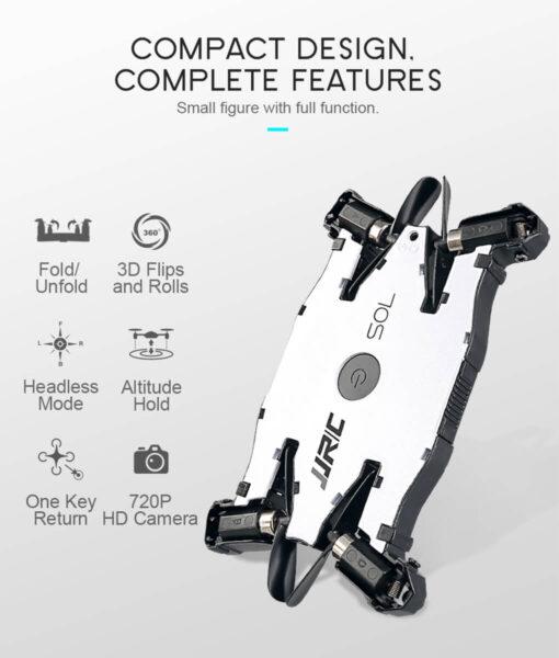 Camera Drone, Ultrathin HD Camera Drone