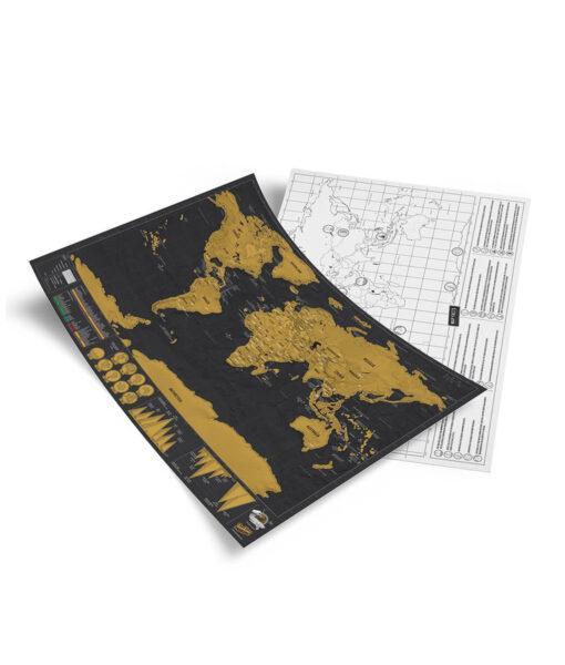 scratch map, Scratch Map – Travel