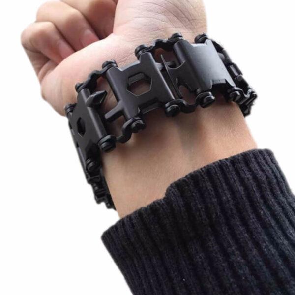 29-in-1-Tread-Multifunctional-Bracelets-304-Stainless-Steel-Walker-Wearable-Tools-Punk-Outdoor-Screwdriver-Bracelets (3)
