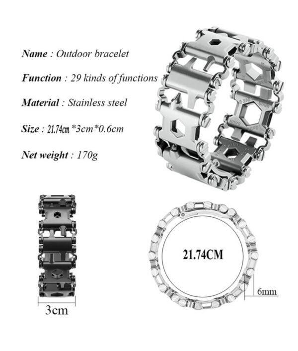29-in-1-Tread-Multifunctional-Bracelets-304-Stainless-Steel-Walker-Wearable-Tools-Punk-Outdoor-Screwdriver-Bracelets (4)