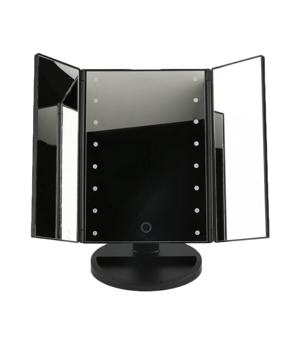 adjustable tabletop light mirror