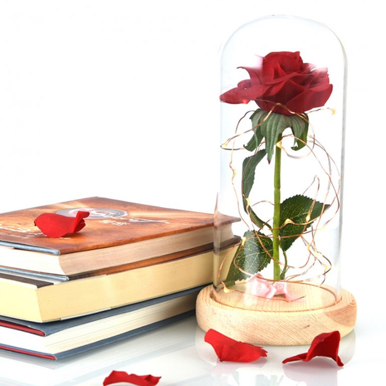 Beauty-and-the-Beast-Red-Rose-in-a-Glass-Dome-on-a-Wooden-Base-for-Valentine-10.jpg