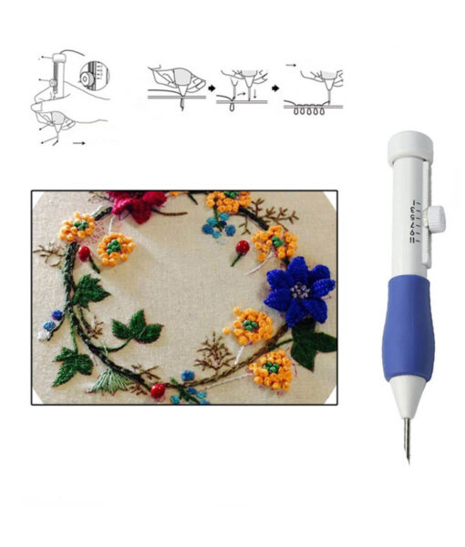 Embroidery Pen, DIY Magic Embroidery Pen