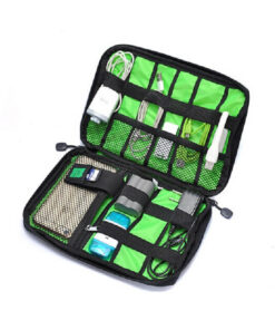 New-Electronic-Accessories-Travel-Bag-Nylon-Mens-Travel-Organizer-For-Date-Line-SD-Card-USB-Cable