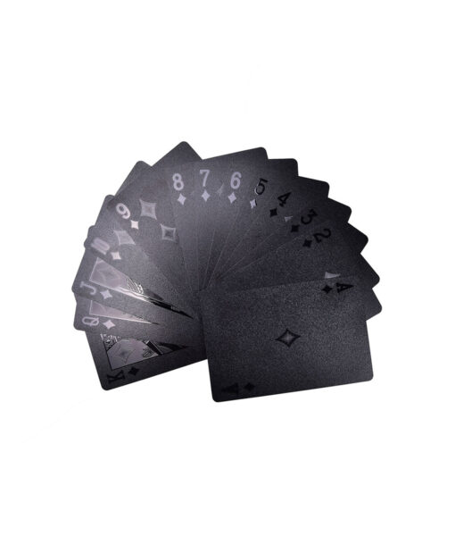 Quality-Plastic-Poker-Waterproof-Black-Playing-Cards-Limited-Edition-Collection-Diamond-Poker-Cards-Creative-Gift-Standard-1