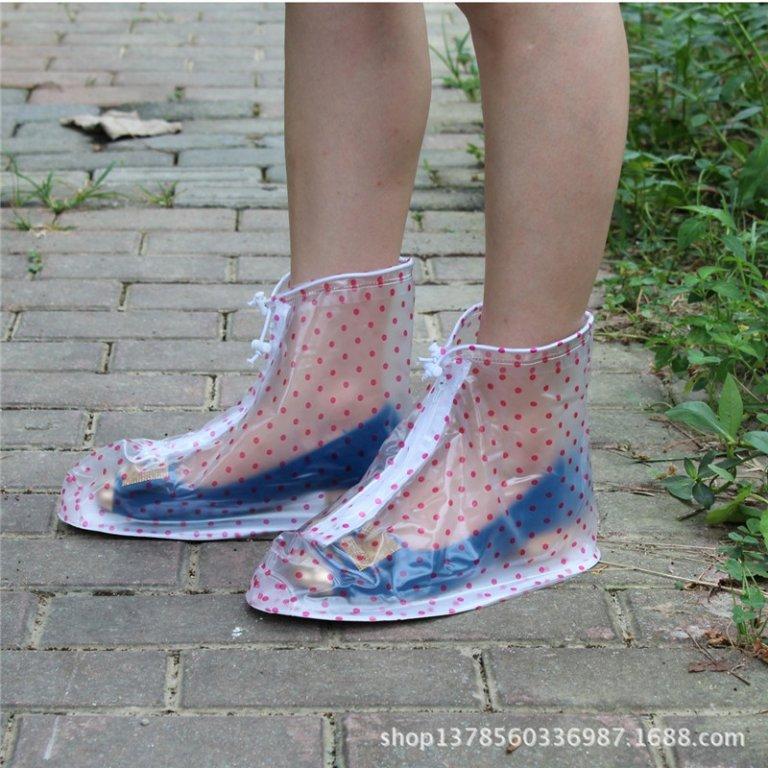 Thickening-Reusable-Waterproof-Overshoes-Shoe-Covers-Shoe-Protector-Anti-slip-Rain-Boot-Men-Women-s-Children-5