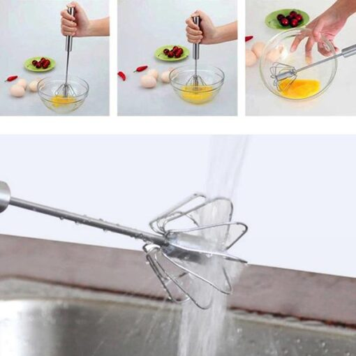 Self-Spinning Mixer Whisk, Self-Spinning Mixer Whisk