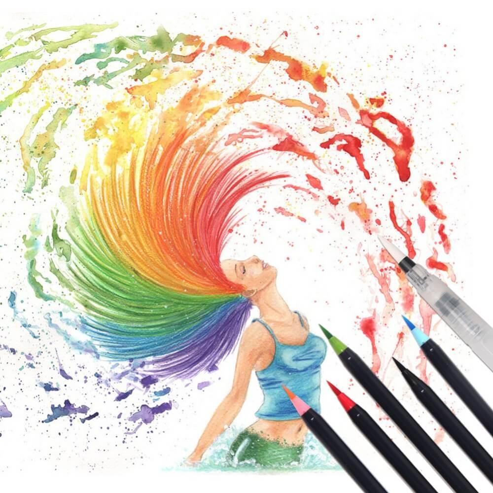 Watercolor Brush Pen Sets
