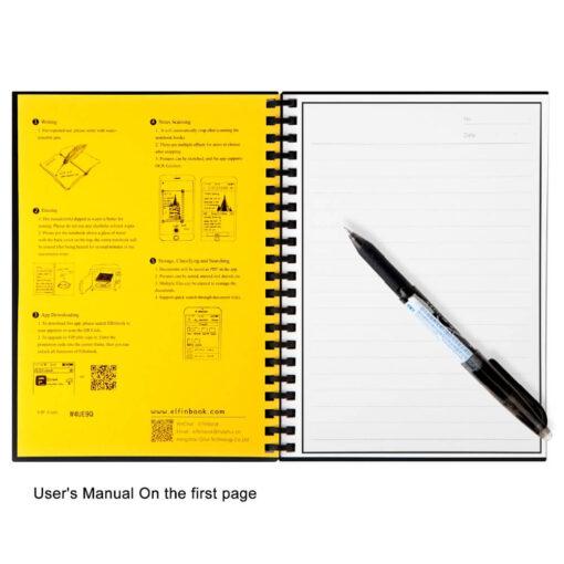 Smart Reusable Notebook, Smart Reusable Notebook