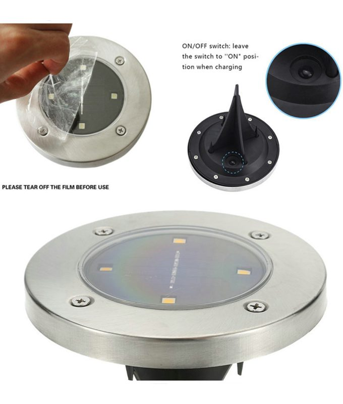 4-LED-Solar-Light-Outdoor-Ground-Water-resistant-Path-Garden-Landscape-Lighting-Yard-Driveway-Lawn-Pond-5