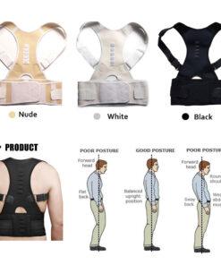 Therapy Back Brace, Unisex Posture-Corrective Therapy Back Brace