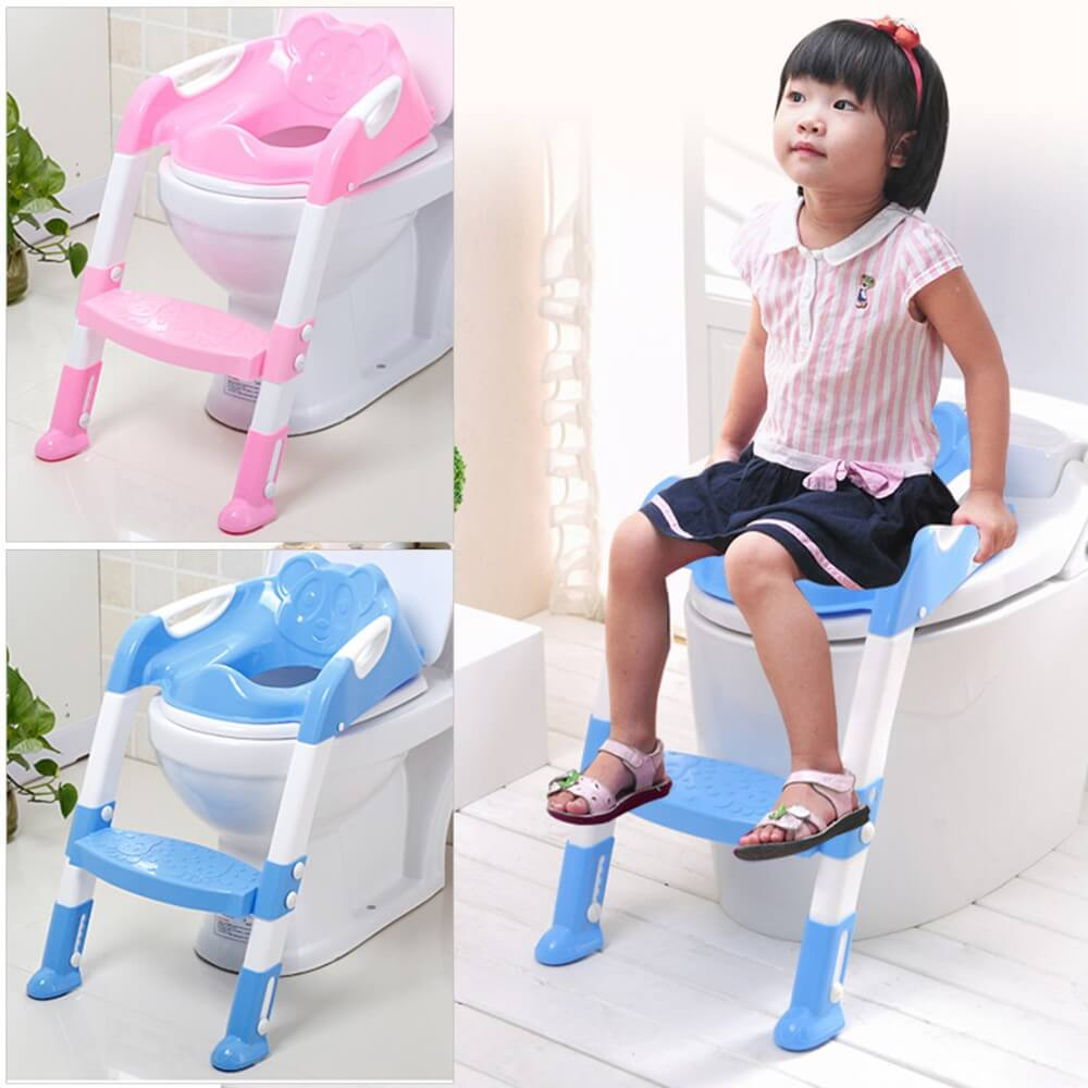 Baby-Toddler-Potty-Toilet-Trainer-Safety-Seat-Chair-  sc 1 st  JOOPZY & Toddler Toilet Trainer Safety Seat