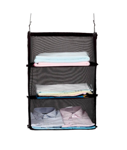 Multi-Functional-Travel-Storage-Holders-Three-Layers-Hanging-Bags-Women-Travel-Organizer-Sundries-Holder-Black-Folding