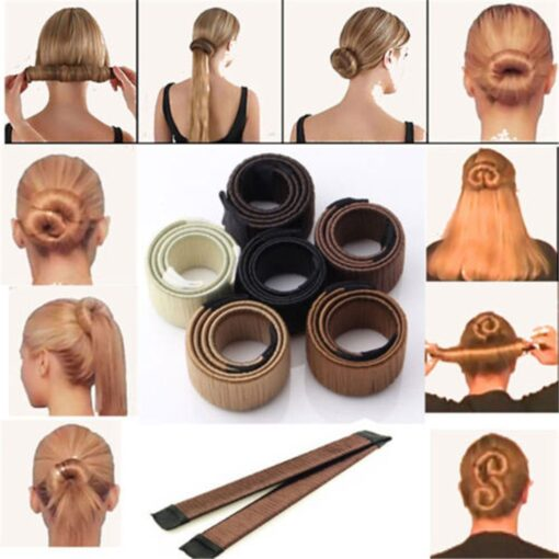 Instant Hair Bun Maker, Magic French Twist Instant Hair Bun Maker