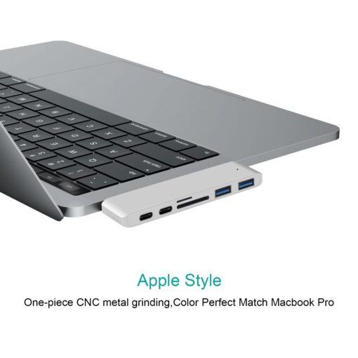 MacBook Hub, 6 in 1 MacBook Hub