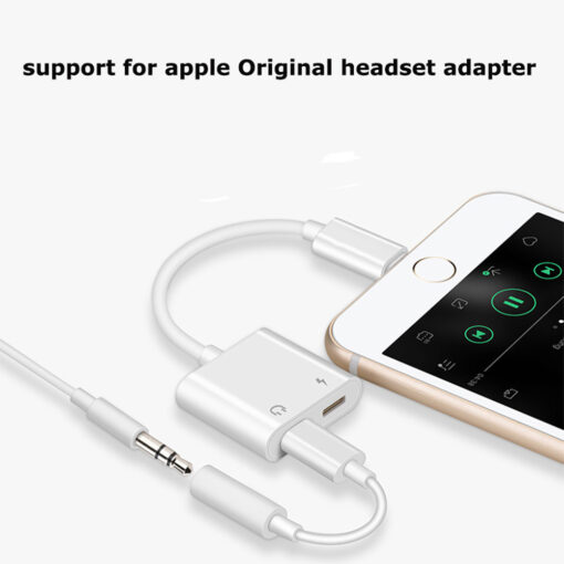 charging/audio adapter, iPhone Charging/Audio Adapter