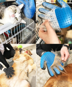 pet deshedding brush glove, Pet Deshedding Brush Glove (Great for Cats/Dogs)