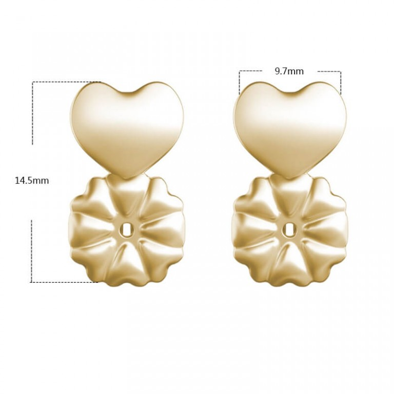 Hot-Magic-Earring-Backs-Support-Earring-Lifts-Fits-all-Post-Earrings-Set-Gold-Color-Silver-Color-2