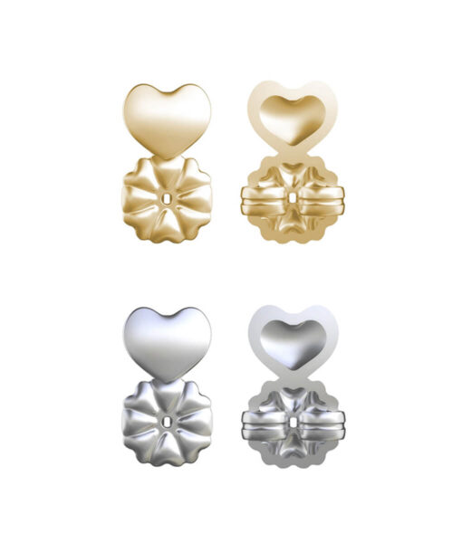 Hot-Magic-Earring-Backs-Support-Earring-Lifts-Fits-all-Post-Earrings-Set-Gold-Color-Silver-Color