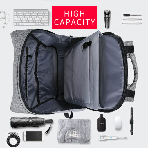 Backpack with USB Port, Smart BackPack with USB Port