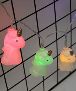 Unicorn String Lights, Super Cute Unicorn String Lights (Set of 10pcs)