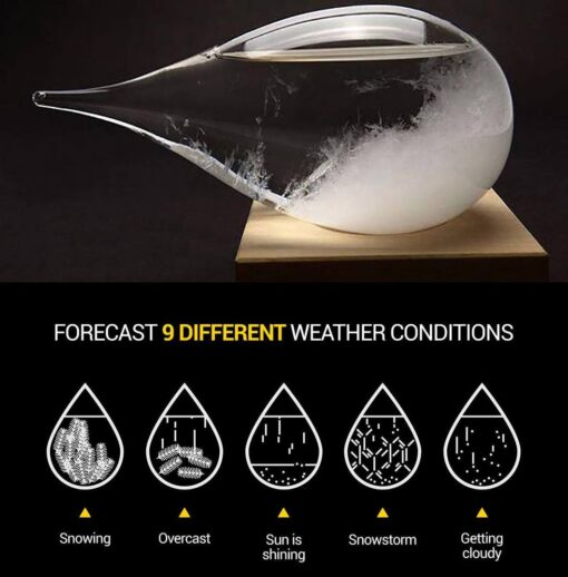 Weather Predicting Storm Glass, Weather Predicting Storm Glass