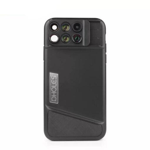 phone camera lens, 6-in-1 Multi Optics Phone Camera Lens
