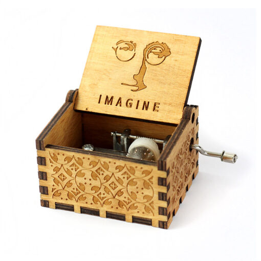 handmade wooden music box, Movie Theme Song Handmade Wooden Music Box