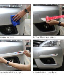 , Automobile Silicone Anti-collision Strip(1 Pair)