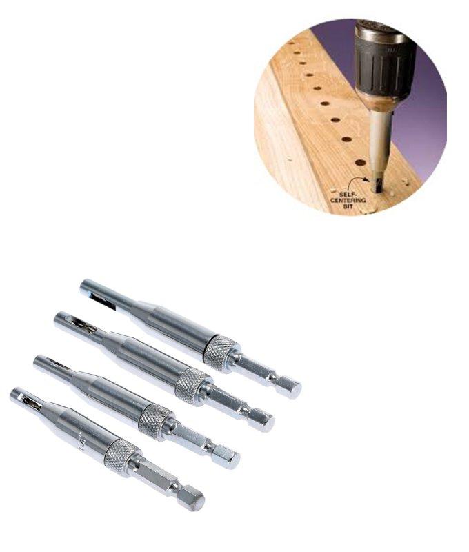 4Pcs-HSS-Self-Centering-Hinge-Drill-Bits-Set-Door-Cabinet-Woodworking-Punch-Hole-Hexagon-Driller-Positioning