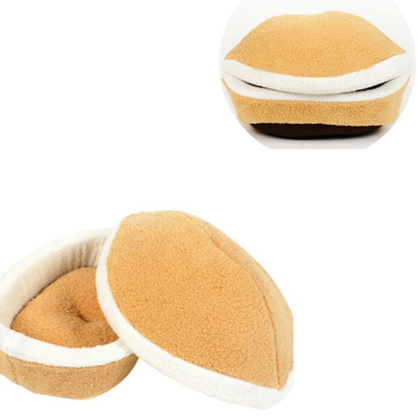 Best-Selling-Kitty-Hamburger-Litter-Disassemblability-Windproof-Pet-Nest-Shell-Cat-Bed-Hiding-Burger-Bun-Pet-400×400