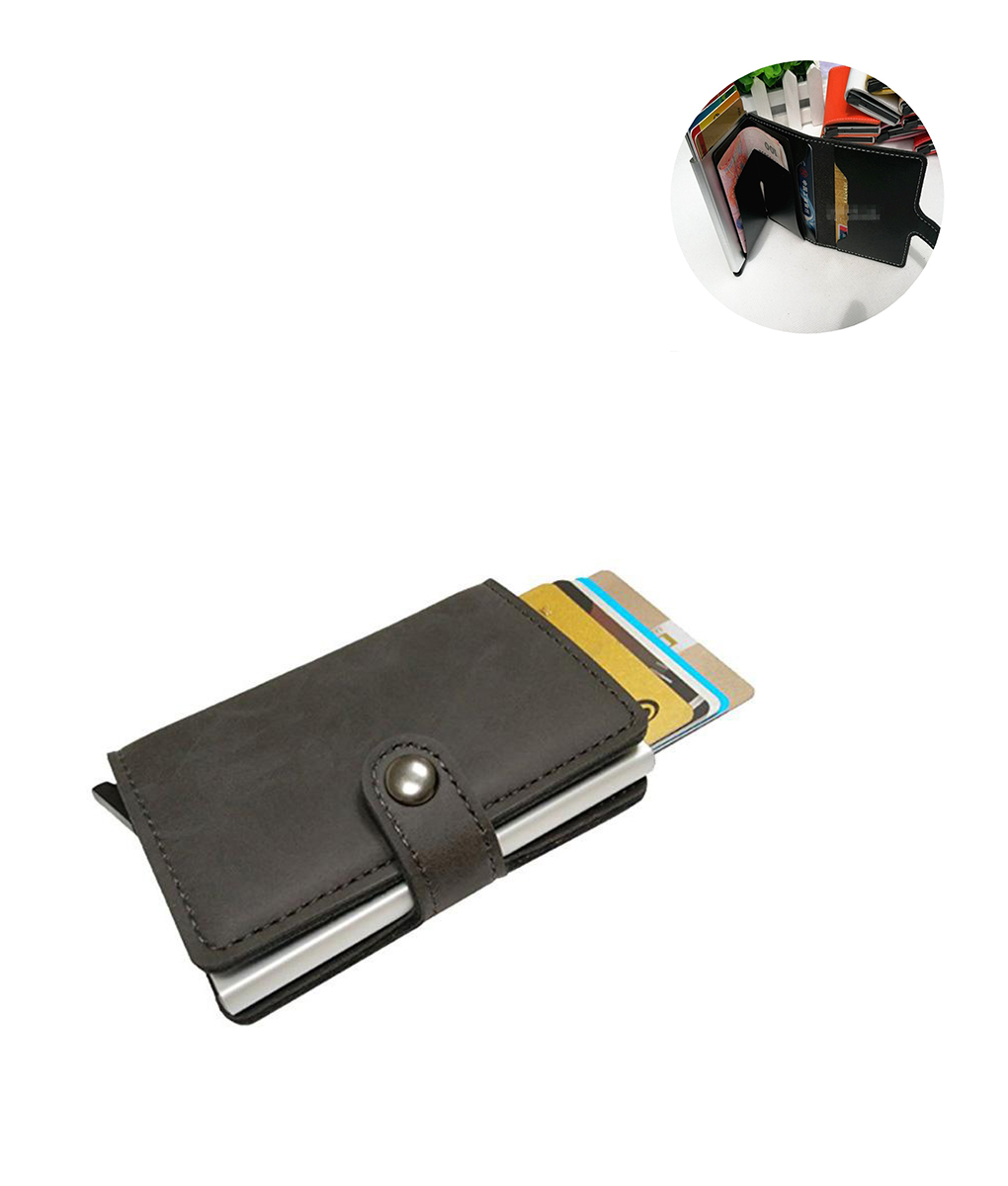 Anti-magnetic Card Holder || Business Card Package Bag