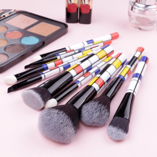 DUcare-9-PCS-Makeup-Brushes-Kabuki-Foundation-Eyeshadow-Blending-Powder-Brush-Goat-Hair-Make-Up-Brushes (3)