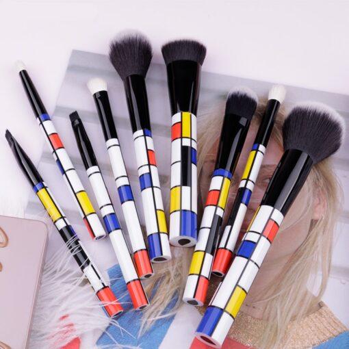 DUcare-9-PCS-Makeup-Brushes-Kabuki-Foundation-Eyeshadow-Blending-Powder-Brush-Goat-Hair-Make-Up-Brushes (4)