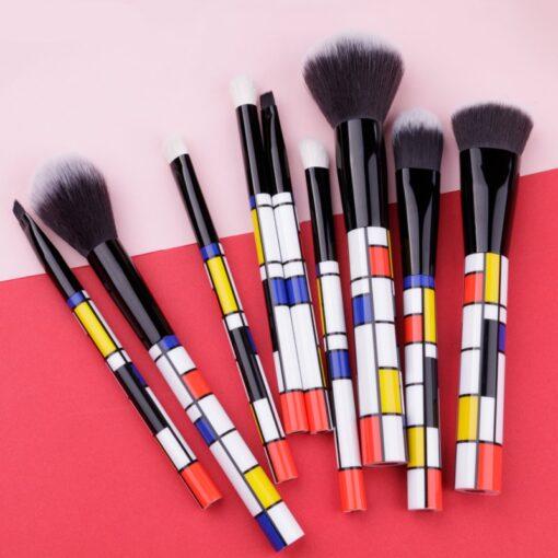 DUcare-9-PCS-Makeup-Brushes-Kabuki-Foundation-Eyeshadow-Blending-Powder-Brush-Goat-Hair-Make-Up-Brushes (5)