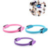 Dual-Grip-Pilates-Circle-Yoga-Wheel-Gymnastic-Circle-Ring-Gym-Workout-Back-Training-Tool-Home-Slimming