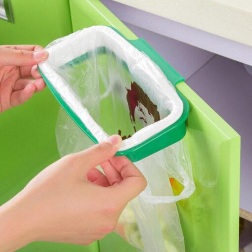 Folding-Hanging-Trash-Rubbish-Bag-Holder-Garbage-Rack-Cupboard-Storage-Hanger-HG99-3