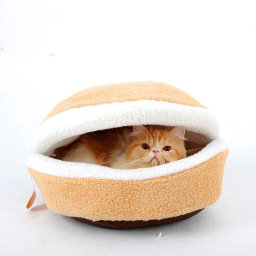 Hamburger Bed, Hamburger Bed for Cats (Pets)