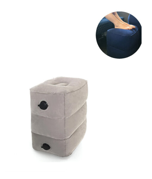 Adjustable Footrest Pillow, Inflatable Height Adjustable Footrest Pillow