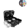 NEW-4-Cavity-Diamond-Shape-3D-Ice-Cube-Mold-Maker-Bar-Party-Silicone-Trays-Chocolate