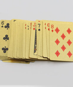 Playing Cards, Gold Foil Playing Cards