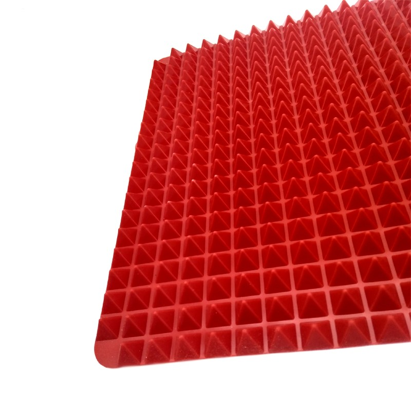 Pyramid Shaped Mat Heat Resistant Silicone Baking Mat