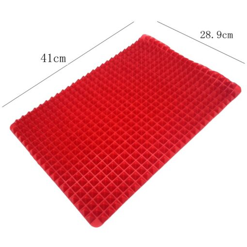 Non-Stick-Heat-Resistant-Raised-Pyramid-Shaped-Silicone-Baking-Roasting-Mats-16-Inches-X-11-5 (4)